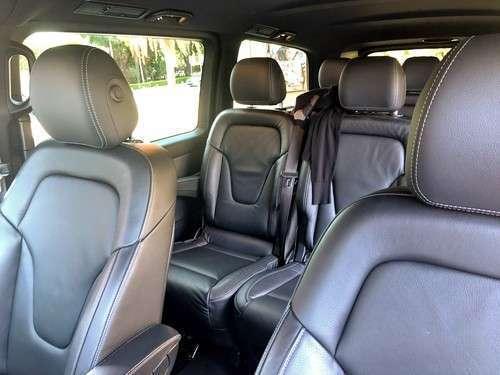 V-Class interior